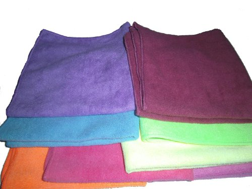 Show Car Guys 8-pack of All Purpose Microfiber Towels 16