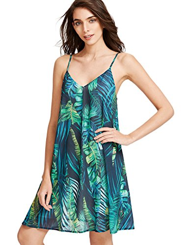 ROMWE Sundress Summer Sleeveless Casual product image