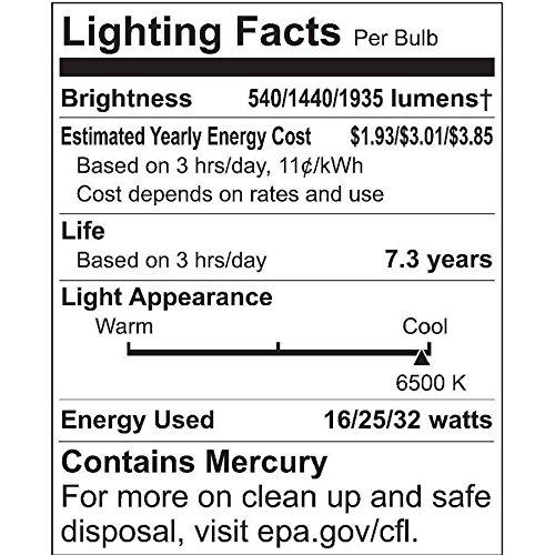 daylight bulb 3 way - 9