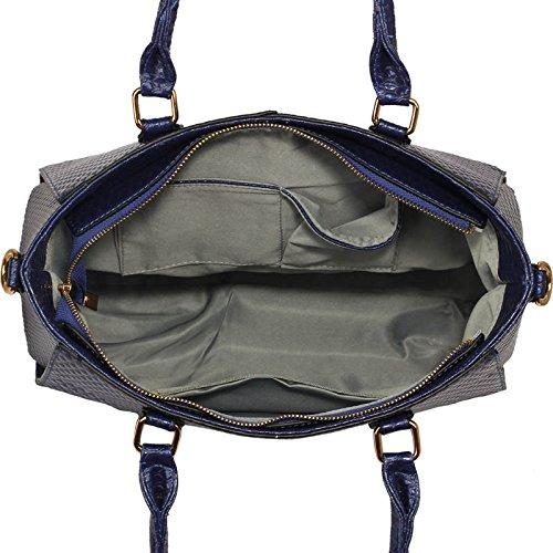 Handbag Designer Shoulder Women Size For In Zip 1 Ladies Large Design Tote Luxury Bag Black Top Grab Patent Leather dIwgYRx