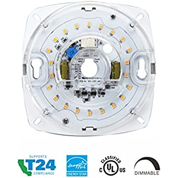 """Silverlite 4"""", 17W, 3000K, 1200LM, 120V, CRI90, Dimmable"""