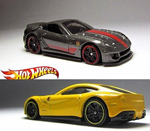 Ferrari 599 2015 2 Car Set Hot Wheels #188 599XX & #31 Ferrari F1 Berlinetta Speed Thrill - Ferrari F1 New