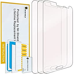 Mr Shield For Samsung Galaxy J3 / Galaxy J3 (2016) Premium Clear Screen Protector [3-PACK] with Lifetime Replacement Warranty
