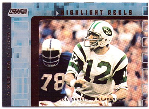 Joe Namath 2001 Stadium Club Highlight Reels #HRJN - New York Jets