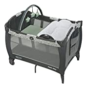 Graco Pack 'n Play Playard Reversible Napper & Changer LX Bassinet, Landry