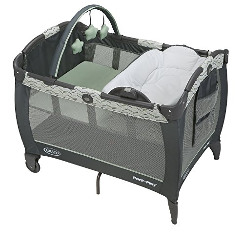 Graco Pack 'n Play Playard Reversible Napper & Changer LX Bassinet, Landry by Graco