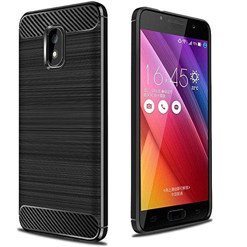 Slim Shockproof Case for Asus Zenfone 5 (Black) - 3