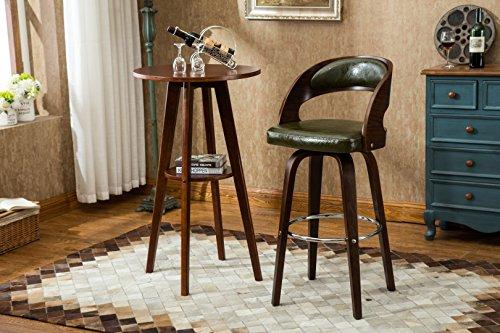 Porthos Home Upholstered Bentwood Gardner Barstool , Green