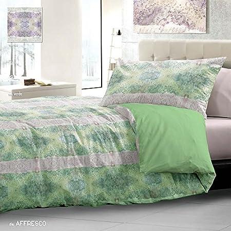 Piumone Matrimoniale Verde.Trapunta Matrimoniale Invernale Verde 2 Piazze 255x265 Cm