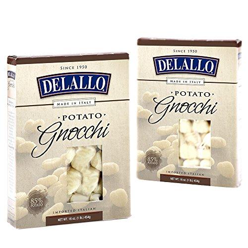 DeLallo Potato Gnocchi, 16-Ounce Units (Pack of 12)