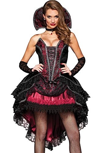 InCharacter Costumes Women's Vampire's Vixen Costume, Black/Red, Large
