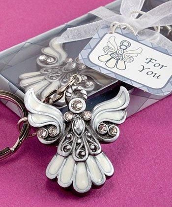 Angel Design Keychain Favors, - Keychain Angel