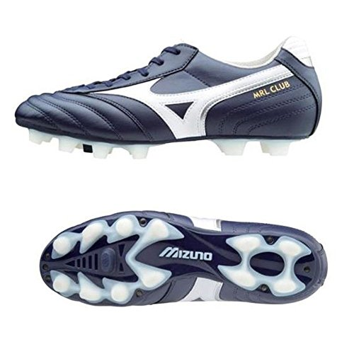 Mizuno MRL Club MD Football Stiefel Peacoat-White-Silver Weiß/Silber (Peacoat-White-Silver)