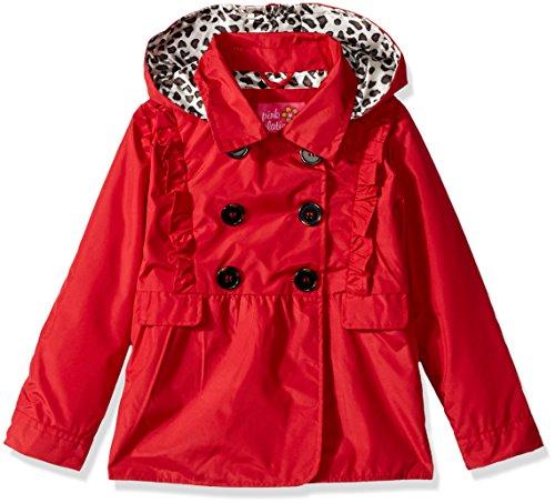 pink platinum trench rain jacket - 4