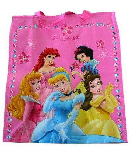 Largeディズニー6 Princess Woven Tota Bag – Princessショッピングバッグ B0029VKPIK