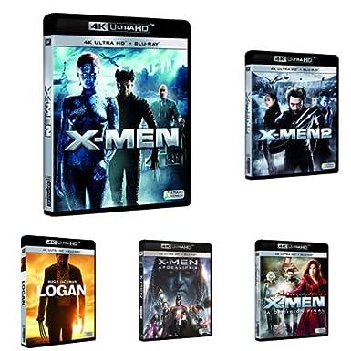 Pack X-Men - Incluye: X-Men + X-Men 2 + X-Men 3 + X-Men: Apocalipsis + X-Men: Apocalipsis 4k Uhd Blu-ray: Amazon.es: Cine y Series TV