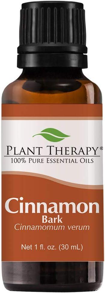 Plant Therapy Cinnamon Bark Essential Oil 30 mL (1 oz) 100% Pure, Undiluted, Therapeutic Grade