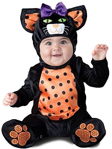 Scary Cat Costumes - Baby Boys Girls Cute Black Cat