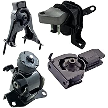Engine Motor and Trans Mount 4pcs Set for 03-08 Toyota Corolla Matrix Pontiac Vibe 1.8L Auto Trans
