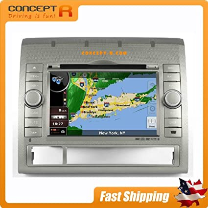 Amazon com: Toyota Tacoma Navigation Stereo In-dash DVD CD