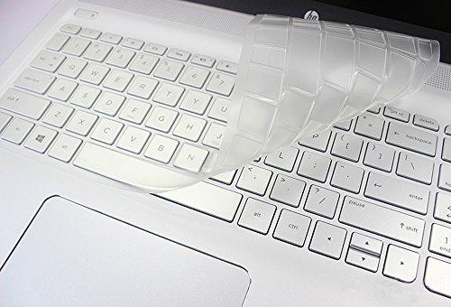TPU Clear Keyboard Cover for 2018 HP ENVY x360 15.6 Inch Flagship, 15.6 HP ENVY X360 m6-w m6-p m6-ae Series