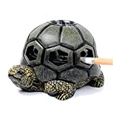 Best Cigarette Ashtray For Home Patios - Monsiter Turtle Ashtrays for Cigarettes Cute Ash Tray Review