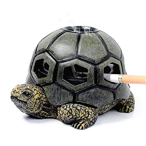 Monsiter Turtle Ashtray for cigarettes Crafts Creative Ashtray with Lid...
