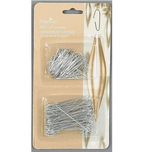 Premier 150 Silver Ornament Metal Hooks  AC081849S Amazoncouk