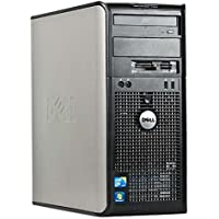 Dell Optiplex  (Intel Dual-Core 3.06GHz Processor, New 4GB Memory, 160GB HDD, DVDRW, VGA, DisplayPort, Windows 10) (Certified Refurbishd)
