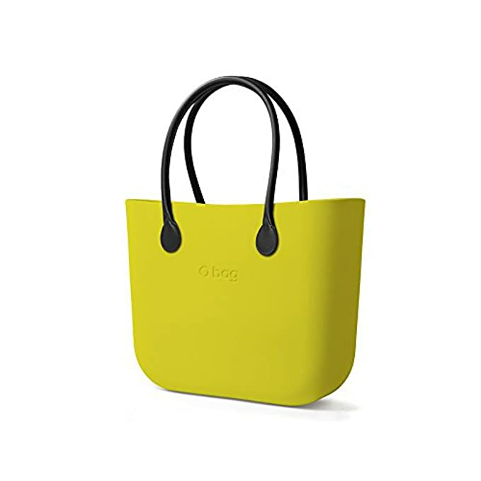 Borsa o Bag Grande Lime manici eco pelle e sacca interna  Amazon.it   Abbigliamento a5babbe5a4a