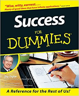 Success For Dummies 9780764550614 Zig