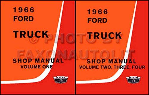 The Absolute Best 1966 Ford Truck   Pickup Factory Repair Shop   Service Manual   All Trucks   F100 F250 F350 Thur F1100  Heavy Duty  Medium Duty  P Series  P100