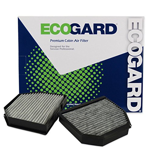 ECOGARD XC35774C Cabin Air Filter with Activated Carbon Odor Eliminator - Premium Replacement Fits Mercedes-Benz SL550, SL55 AMG, SL500, SL600, SL63 AMG, SL65 AMG, SLR - Amg Mercedes Benz Sl65