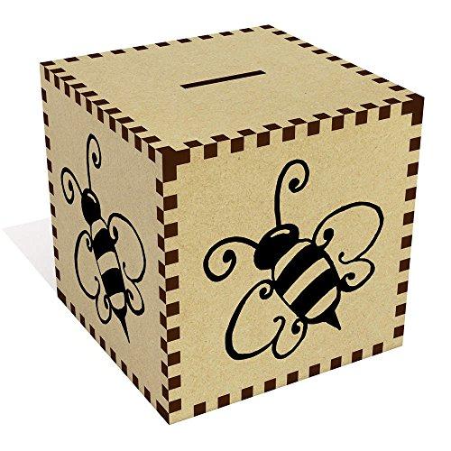 Azeeda Large 'Bumble Bee' Money Box / Piggy Bank (MB00033616)