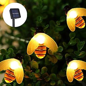 Amazon.com: Honeybee Fairy String Lights, 20 LED 7.5Ft