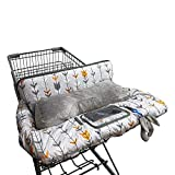 Shopping Cart Cover for Baby Cotton, Minky Bolster