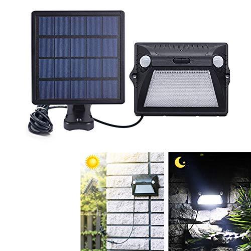 waterproof solar light dual headed