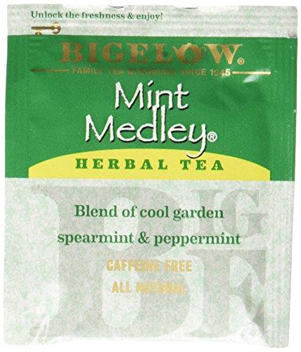 Bigelow Mint Medley Tea Bags - 20 ct - 3 pk - Mint Medley Herb Tea