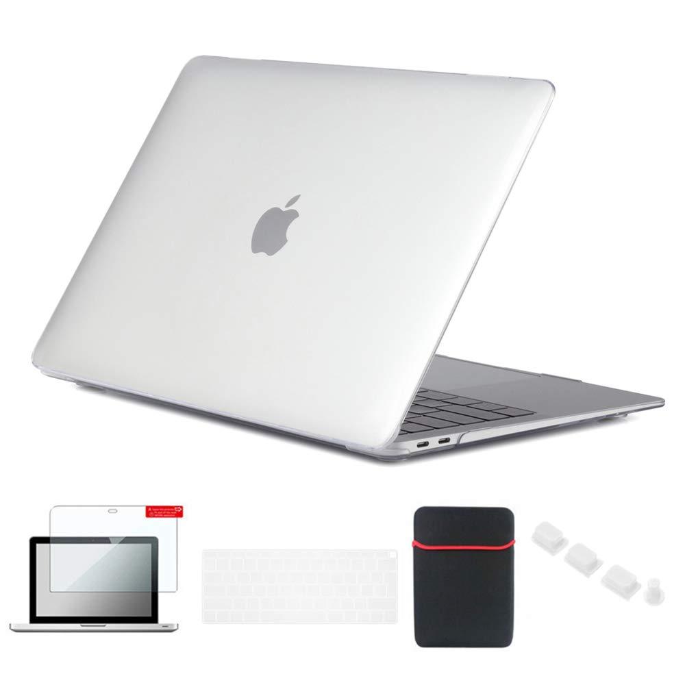 azul profundo tap/ón del polvo bolso de la manga cubierta del teclado Se7enline para Macbook Pro 13 pulgadas A1278 c/áscara dura helada colorida protector de pantalla