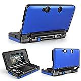 TNP 3DS Case (Blue) - Full Body Protective Snap-on Hard Shell Aluminium Plastic Skin Cover for Nintendo 3DS 2011 Model