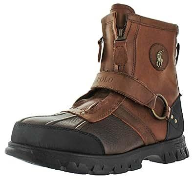 Amazon.com | POLO Ralph Lauren Mens Conquest HI Leather