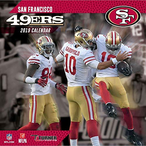 (2019 San Francisco 49ers Wall Calendar, San Francisco 49ers by Turner Licensing)