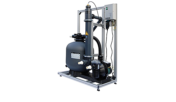PURION 80 Sistema de filtrado con Sistema UV para Piscinas de ...