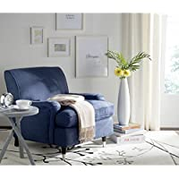 Safavieh Mercer Collection Chloe Club Chair, Navy