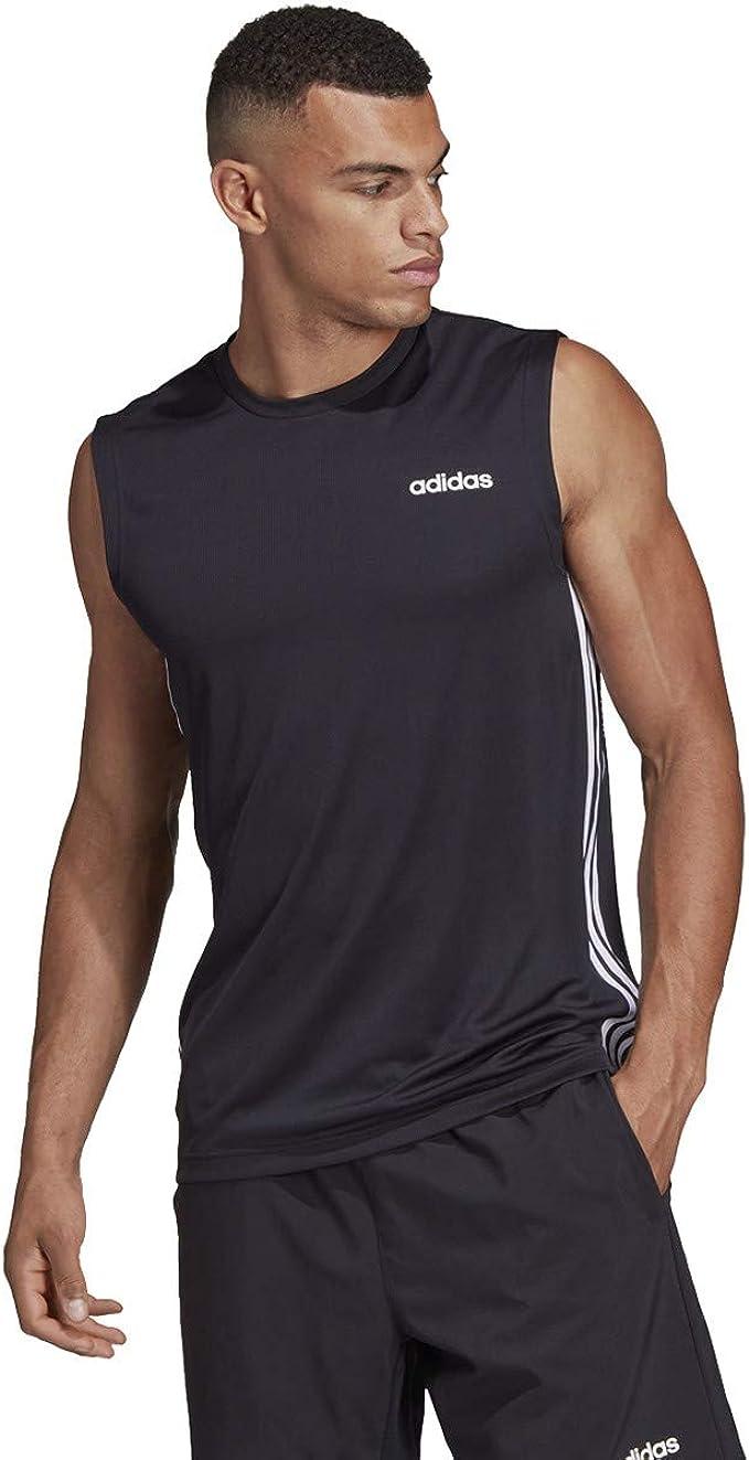 Camiseta sin mangas adidas Climalite Relaxed Fit (negro ...