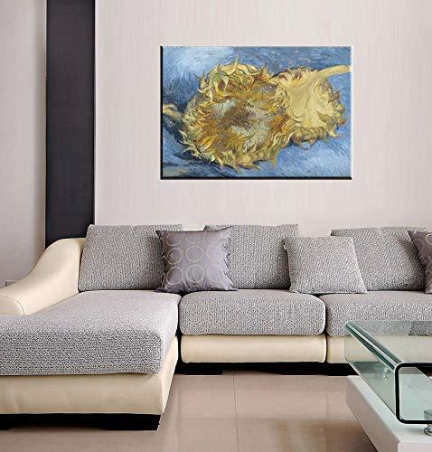 Canvas Wall Art Sunflower by Van Gogh Painting Print - 20\