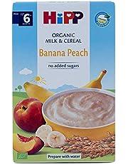 Hipp Organic Milk Pap, Banana Peach, 250g
