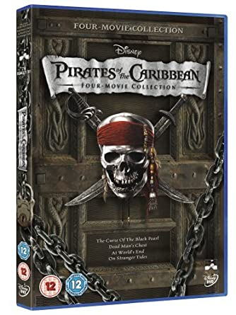 Pirates Of The Caribbean 1 4 Box Set Dvd By Johnny Depp Amazonde
