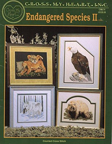 Endangered Species II - Cross Stitch (Cross My Heart, CSB-74)