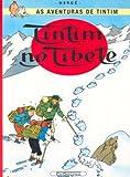 capa de Tintim - Tintim no Tibete